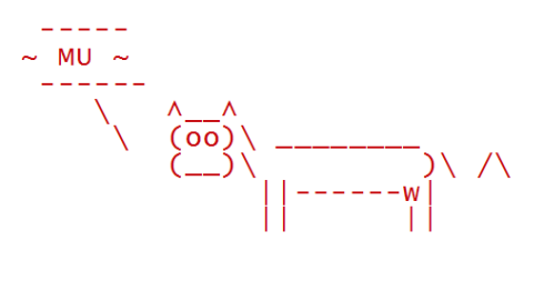 Procrastination in R: Cowsay Package – Amber Gillenwaters